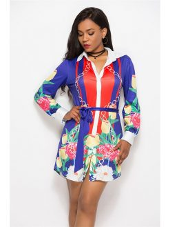 Bohemian Sexy Mini Dress 2