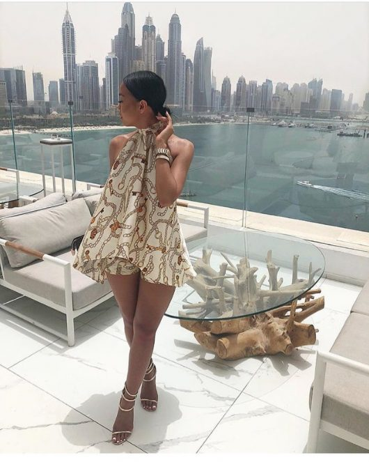 Two Pieces Summer Set  Halter Backless Jumpsuit