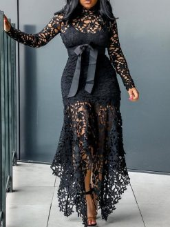 Elegant Vintage Sexy Party Dress