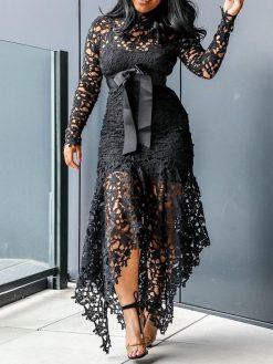 Elegant Vintage Sexy Party Dress 1