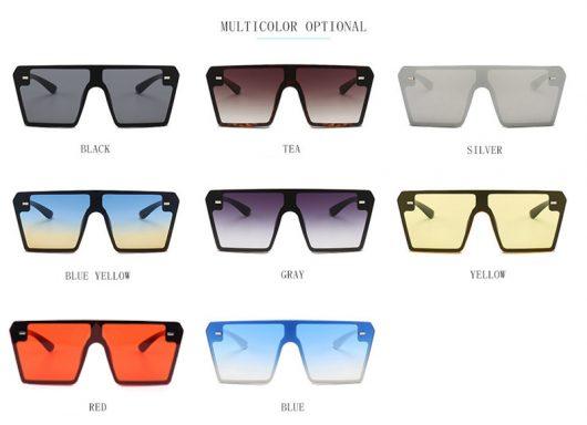 Oversized Square Sunglasses 5
