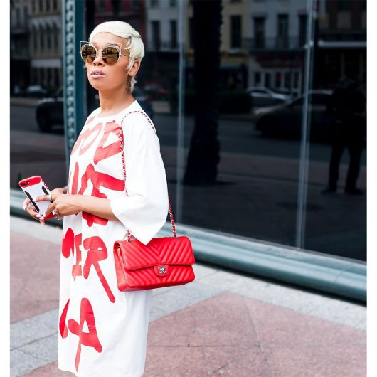 God Save America Casual White Summer Dress 1