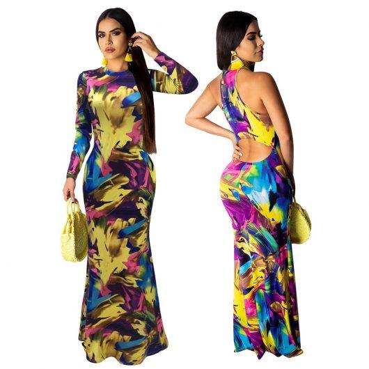 Sexy Women's Long Dress Elegant Maxi Dresses
