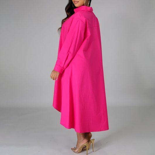 Women Long Shirts Dress  African Dress Vestiods Shirts 2020 Summer Loose Female Midi Dresses Robe Casual Ruffles Daily 5