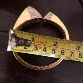 Elegant Unique African Bangle Ring Set photo review