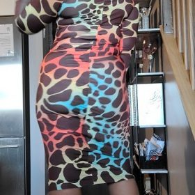 Your Wild Temptation Dress photo review